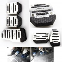 Sports Non Slip Car Pedals Cover Set Manual / Auto
