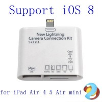 5 in 1 Card Reader Camera Connection Kit for iPad