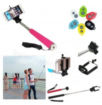 Extendable Arm Monopod + Bluetooth Remoter for Phone