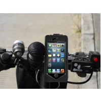 Waterproof Bike Mount Holder Case cover iPhone5 & 5s