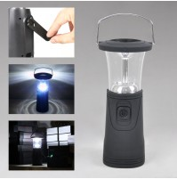 Solar Camping Lantern LED with Dynamo Hand Crank