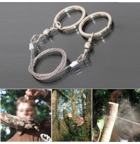 Steel Wire Saw Camping Hunting Survival Tool