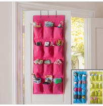 12 Pocket Wall Door Closet Hanging Organizer Pouch