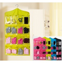 16 Pocket Wall Door Closet Hanging Organizer Pouch