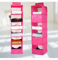 Washable 6 Shelf Hanging Closet Stroage Organizer