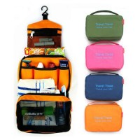 Travel Cosmetic Toiletry Makeup Hanging Organizer