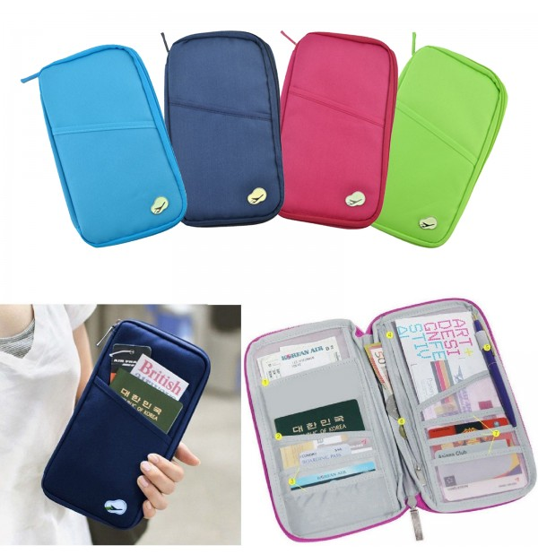 Travel Organiser Passport Ticket Holder Wallet