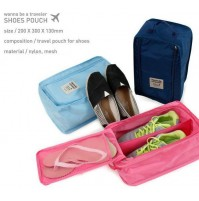 Travel Shoes Organizer Zipper Storage Bags Pouch