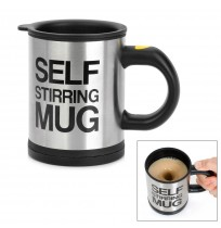 Lazy Self Stirring Mug Auto Mixing Tea Cup Coffee