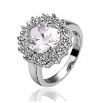18K Plated Princess Diana Royal Statement Ring