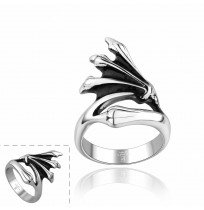 Men's 316L Stainless Steel Gothic Dragon Claw Ring