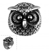 316L Stainless Steel Retro Amazing Cute Owl Ring