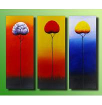 100% Handmade Oil Paintings Canvas-Framed #003