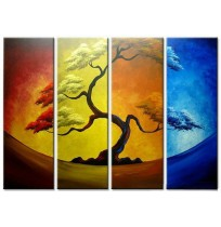 100% Handmade Oil Paintings Canvas-Framed #006