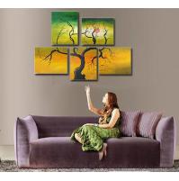 100% Handmade Oil Paintings Canvas-Framed #008