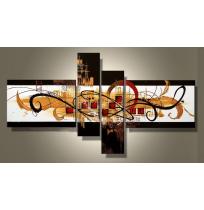 100% Handmade Oil Paintings Canvas-Framed #013