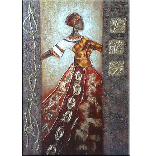 100% Handmade Oil Paintings Canvas-Framed #026