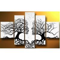 100% Handmade Oil Paintings Canvas-Framed #032