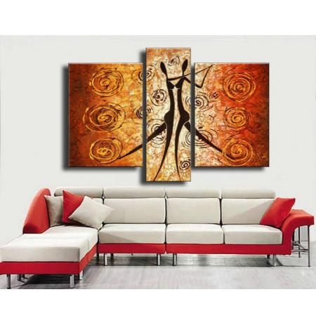 100% Handmade Oil Paintings Canvas-Framed #035