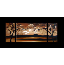 100% Handmade Oil Paintings Canvas-Framed #037