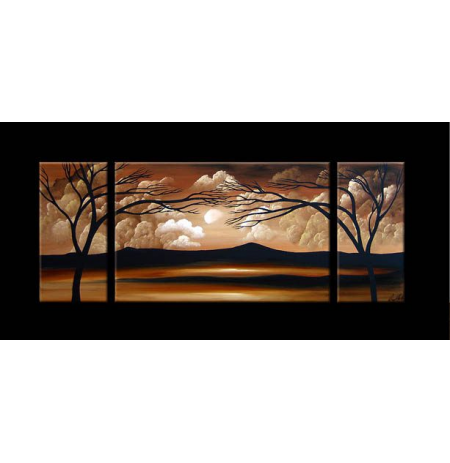 100% Handmade Oil Paintings Canvas-Framed #037