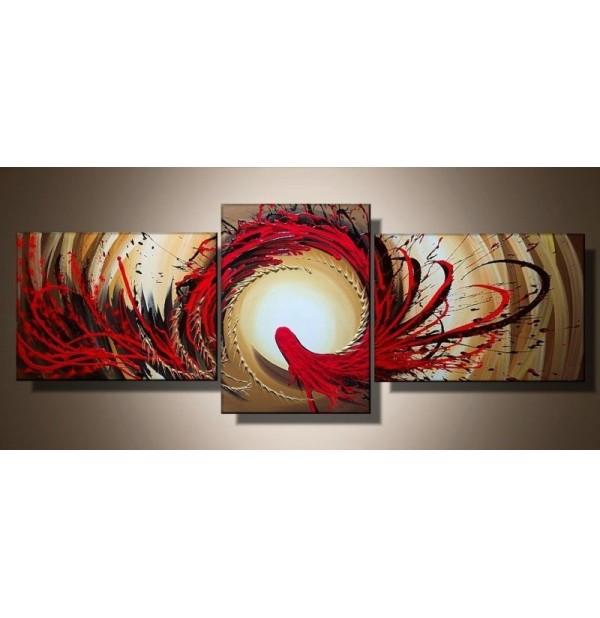 100% Handmade Oil Paintings Canvas-Framed #042