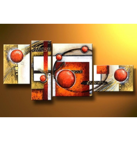 100% Handmade Oil Paintings Canvas-Framed #065