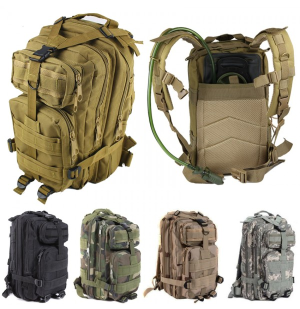 Outdoor 3 Day Pack Army Tactical Camping Backpack