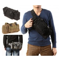 Tactical Outdoor Camping Hiking Waist Shoulder Bag