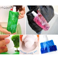 Foldable Outdoor Sport Bag Water Bottle Reusable