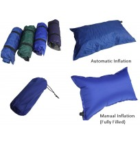 Automatic Inflatable Pillow Travel Camping Hiking