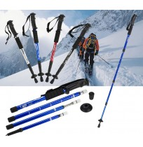 Extendable Anti Shock Hiking Walking Stick Pole