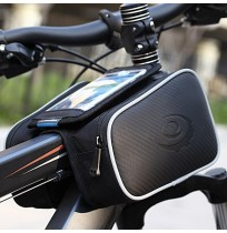 Bicycle Tube Frame Pannier Double Bag For Phone