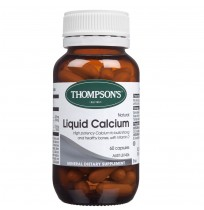 Thompson's Liquid Calcium 60 Caps