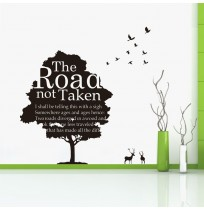 The Road Is Not Taken