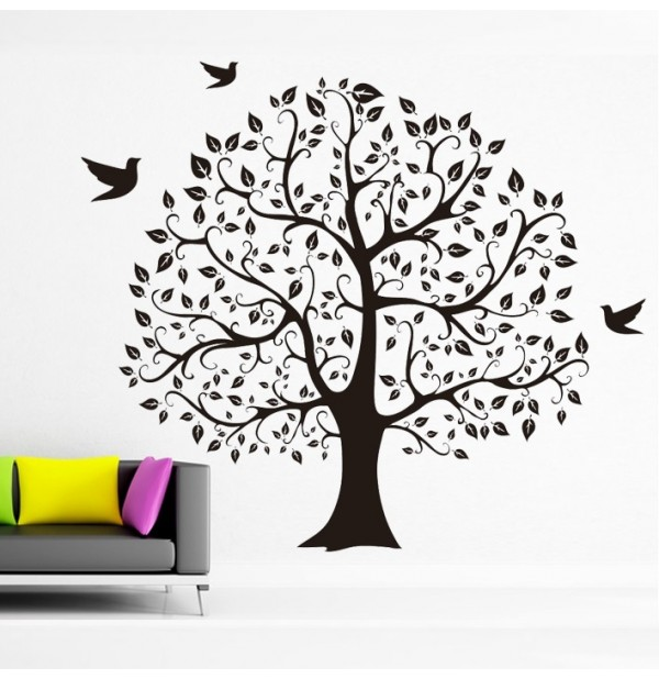 Tree With Birds #1