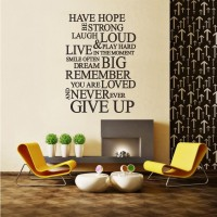Have Hope Never Ever Give Up