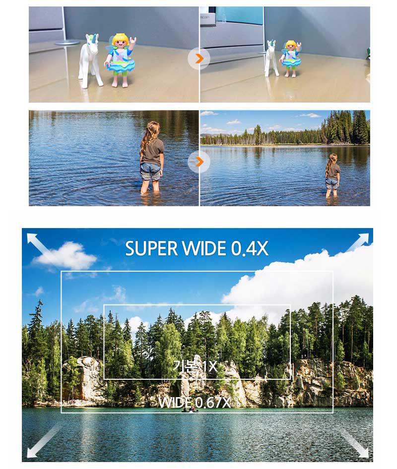 universal zoom rectangular lenses